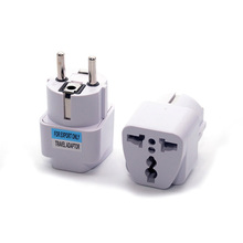 Universal Germany Korea EU AC Power Plug Adapter US/AU/UK to DE KR Plug Socket Converter Travel Plug цены онлайн