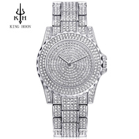 ELMER Silver Women Watches Luxury High Quality Water Resistant Montre Femme Stainless Steel 2016 Dress Woman