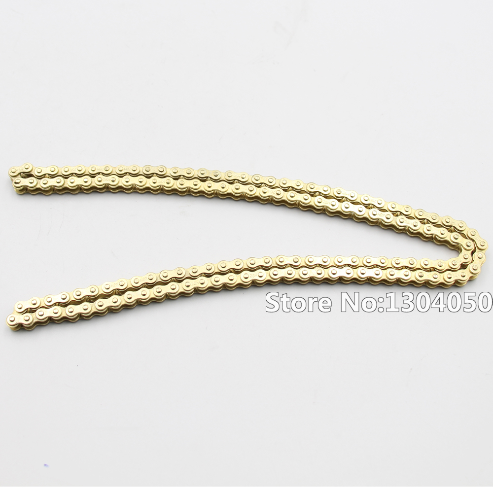 Golden 25H Chain 136L Links For 47cc 49cc Engine Mini Moto Minimoto Dirt ATV Pocket Bike Go Kart Motocross new