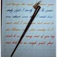 Handmade Wooden Magic Wand Copperplate Script Oblique Dip Pen Nib Holder Best Gift Calligraphy Dip Pen
