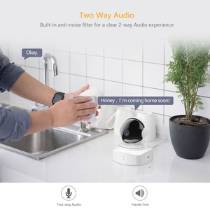 Image 4 - YI Cloud Home Camera 1080P HD Wireless IP Security Camera Pan/Tilt/Zoom Indoor Surveillance System Night Vision Motion Detection