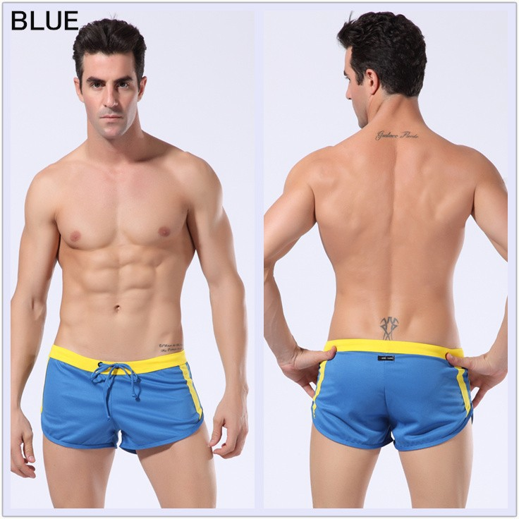 1pcs Mens Beach Shorts Sports Casual Short For Men Sea New Swimming Surf Board Wear Underwear Boxer Basketball Running In From S