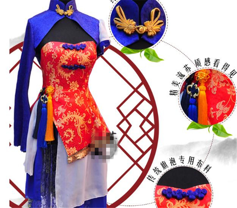 Japanese Anime Hot Dance Music Cosplay Costume Chinese Style Hot Sale Dress Beautiful Clothing