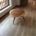 Original Design 76 CM Walnut Wood Coffee Table