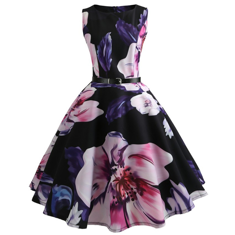 2018 Casual Summer Girls Dresses for Kid Floral Parting Princess Dress for Party Beach dress Children Clothing For teens 11-20 Y