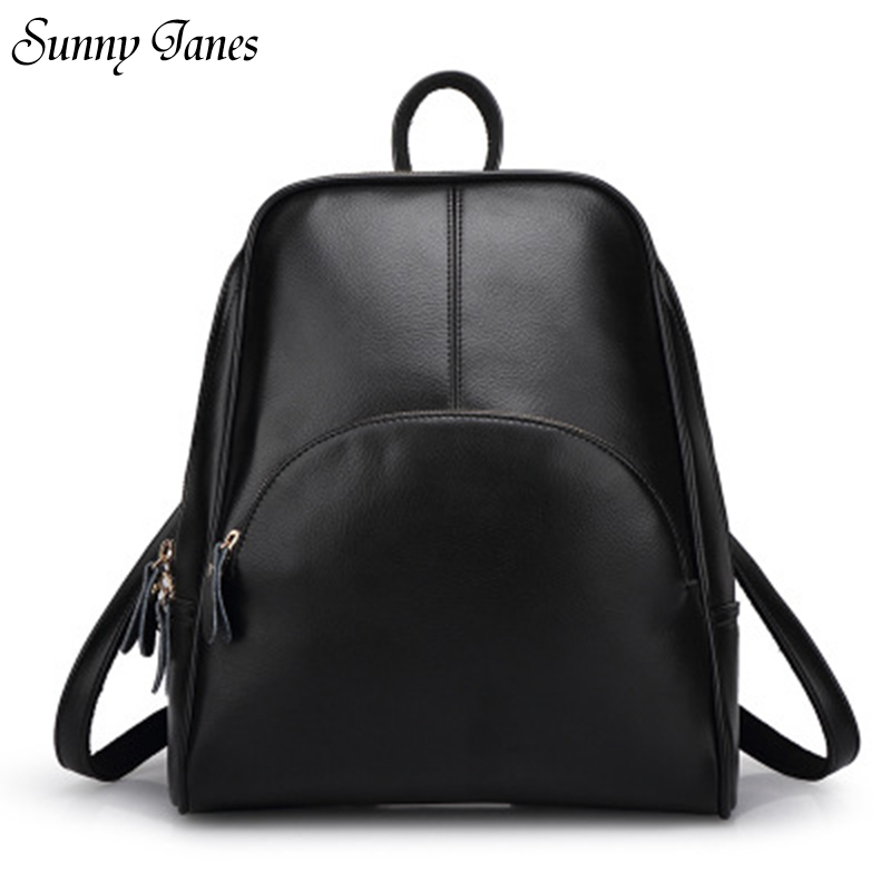 2017 Sunnyjanes New Fashion High Quality  Leather Multiple Use Methods Backpacks Korean Style Female Backpack free shipping v000275410 for toshiba satellite c850 c855 intel laptop motherboard all functions fully tested