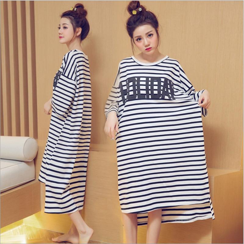 Women Nightgowns Cotton Night Dress Sexy Spaghetti Strap V-Neck Lace Casual Home Dress Night Shirt Sleepwear Nightwear