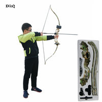 Archery Recurve 20lbs Children Recurve Bow Adult Outdoor Hunting Shooting Practice Archery Bow Slingshot TakeDown Bow 2 Color