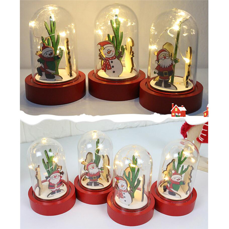 Aliexpress.com : Buy Christmas Decorations Wooden Lights
