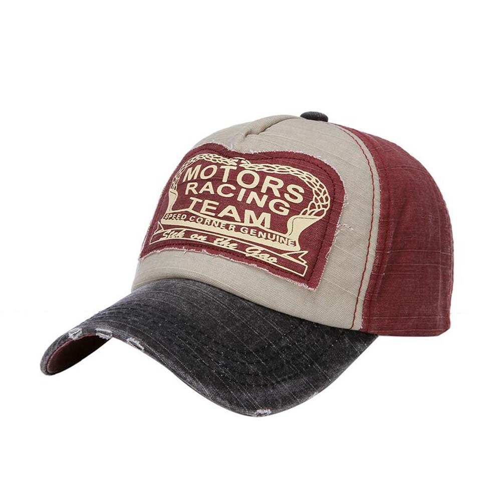 Wash Caps To Make Old American Flag Alphabet Baseball Caps Home Men And Women Wear Pure Cotton Duck Tongue Caps