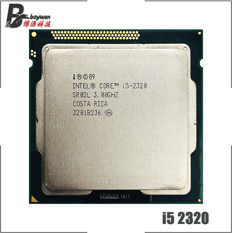 Intel Core i5 2320 i5 2320 3.0 GHz Quad Core CPU Processor 6M 95W LGA 1155-in CPUs from Computer & Office    1