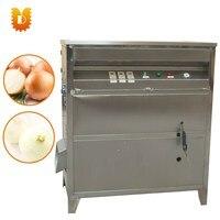 500-600 kg/saat sıcak satmak soğan cilt soyma makinesi/yüksek kapasiteli soğan soyucu makinesi