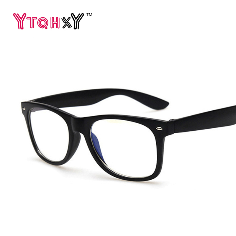 Fashion Men Women Optical Eyeglasses Frame Glasses With Clear Glass Brand  Transparent Glasses Women's Men's Frames Y130