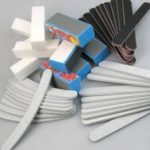 40 PCS Nail Art Tools Set Sanding Files Buffer Block Sand Paper Nail File Manicure Pedicure Tools Kit Salon Nail Use