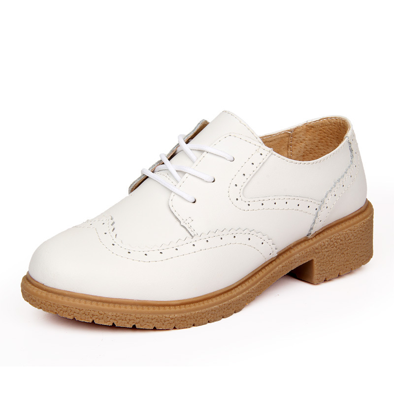 ФОТО Women Flats Leather Summer Breathable Female Designer Oxfords Non-Slip Summer Shoes AA40020