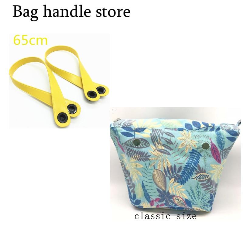 1 Pair Classic For Obag Handles And For Obag Inner Bag Removable Matching Women Fashion Shoulder Bag With Handbag