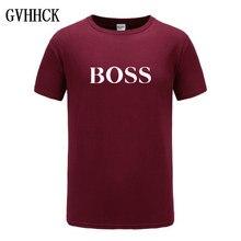 6fbf17ae989 Livraison gratuite t-shirt hommes 100% coton nouveaux T-shirts grand patron  lettre