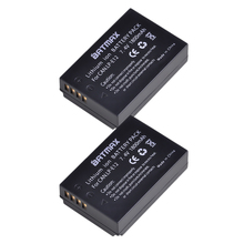 2 шт LP-E12 LP E12 LPE12 высоком Ёмкость замена батарей (1800 мАч) для Canon Rebel SL1, EOS-M, EOS M2, EOS M10 беззеркальных