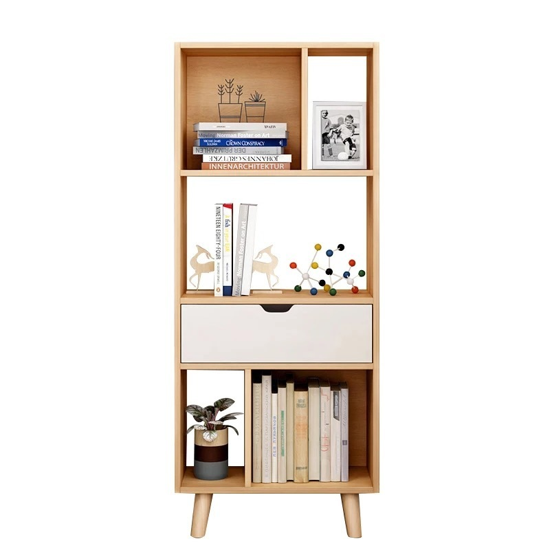 Shelf De Maison Libreria Mueble Display Estanteria Madera Meuble Vintage Wodden Book Retro Furniture Decoration Bookshelf Case