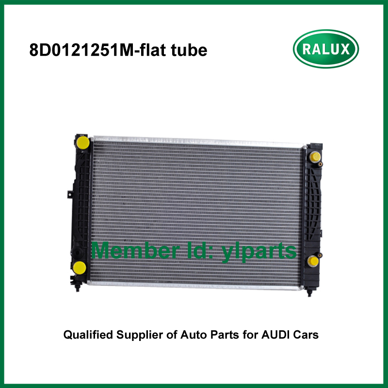 Car Cooling flat tube Radiator For Audi A4 Quattro 1997-2001 Volkswagen Passat 1998-2005 auto radiator engine OE NO. 8D0121251M 0001108175 0986018340 458211 new starter for audi a4 a6 quattro volkswagen passat 2 8 3 0 4 2 l