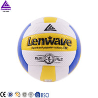 Free Shipping Volleyball Size 5 Game Thickened Soft PVC Volley Ball Lenwave Brand Indoor competition Volleyball Ball