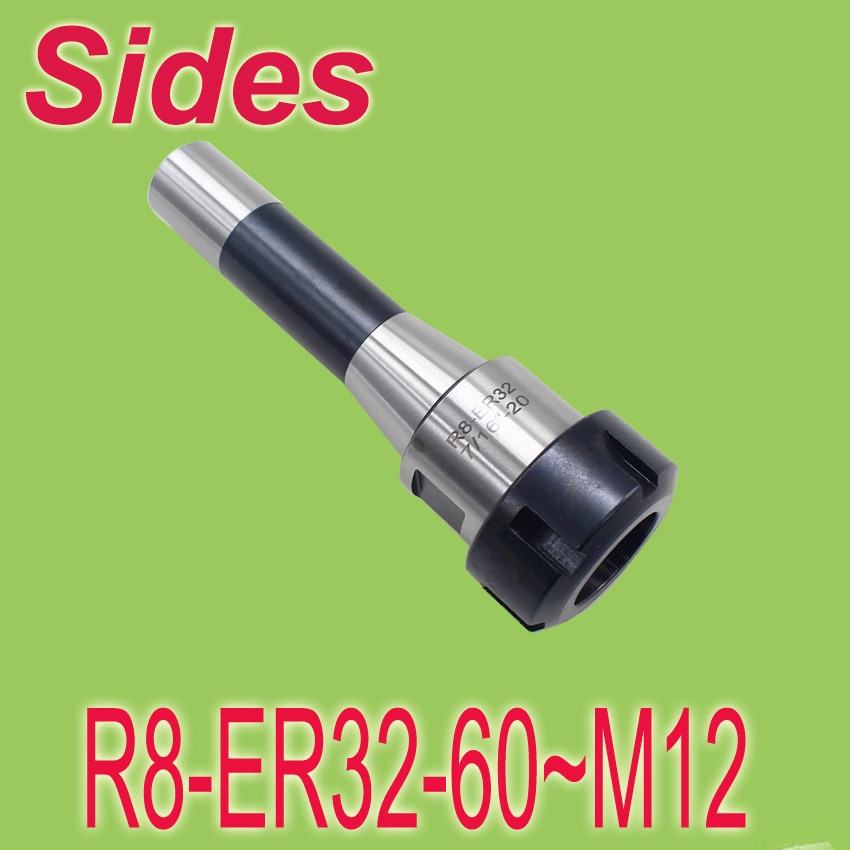 ФОТО Free Shipping  R8 ER32 60mm M12 Metric Size Spring Collet Chuck CNC  Milling Toolholder