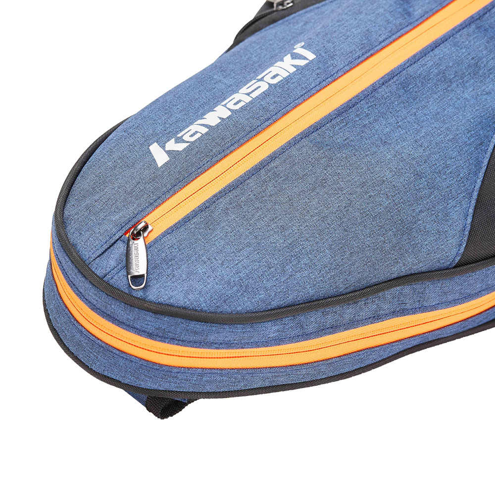 Kawasaki Big Racket Sport Bag Badminton Bag Multi-layer Placement Tennis Racket Dacron Shoulder Bag Honor Series KBB-8302