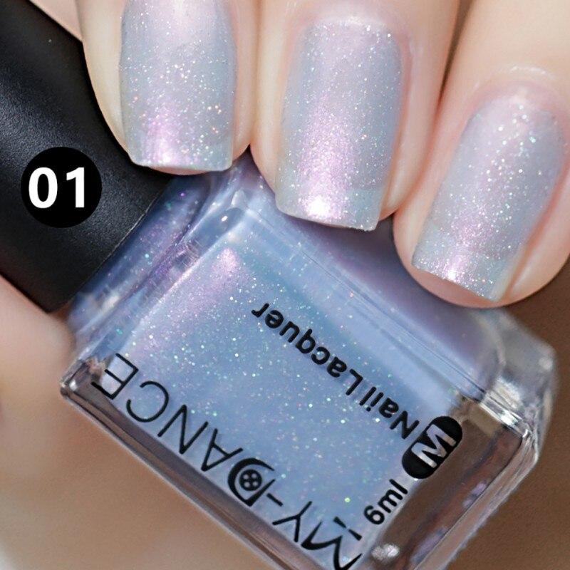 6ml Mermaid Pearl Shells High Quality Psychedelic Gel Nail Polish Semi Permanent Gel Manicure Varnish