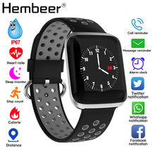 Smart Band Heart Rate Blood Pressure Fitness Tracker Bracelet Weather Call Reminder Wristband for iOS Android pk fitbits xiaomi women swimming bluetooth fitness bracelet tracker smart band heart rate monitor wristband smartband for ios android pk fitbits