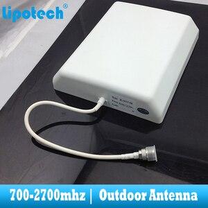 Image 5 - 8dbi 700 2700Mhz 2G 3G 4G Outdoor Panel Antenna GSM CDMA WCDMA UMTS Repeater Antenna  LTE Booster / amplifier External Antenna