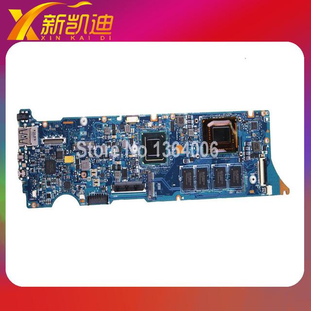 Frete grátis para asus ux31e rev 3.2 laptop motherboard i5-2467 2.3 ghz cpu 4 gb ram 60-n8nm b4g01 série totalmente testado