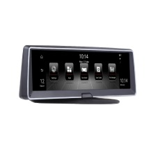 LSON 8 дюймов 3g 4GAndroid двойной объектив Автомобильный видеорегистратор gps навигатор ADAS Full HD 1080P тире камера авто видео регистратор навигация рекордер