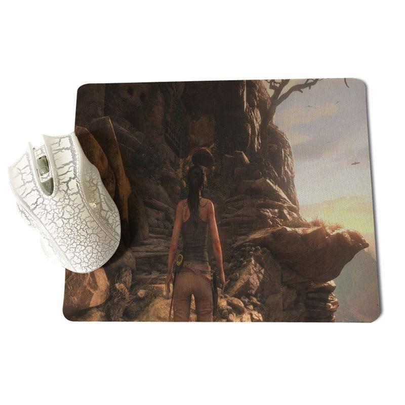 MaiYaCa Tomb Raider Laptop Gaming Mice Mousepad Size for 18x22x0.2cm Gaming Mousepads