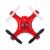 DHD D2 Câmera de 2MP HD 6 Eixos Giroscópio Helicóptero de Controle Remoto Quadcopter Dois Modos de carregamento 4 Canais USB Plug Motor da Escova Dron