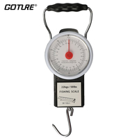 Goture Portable Multi Purpose Scale Fishing And Luggage Hanging Hook With Tape Measure Max Weight 50lb