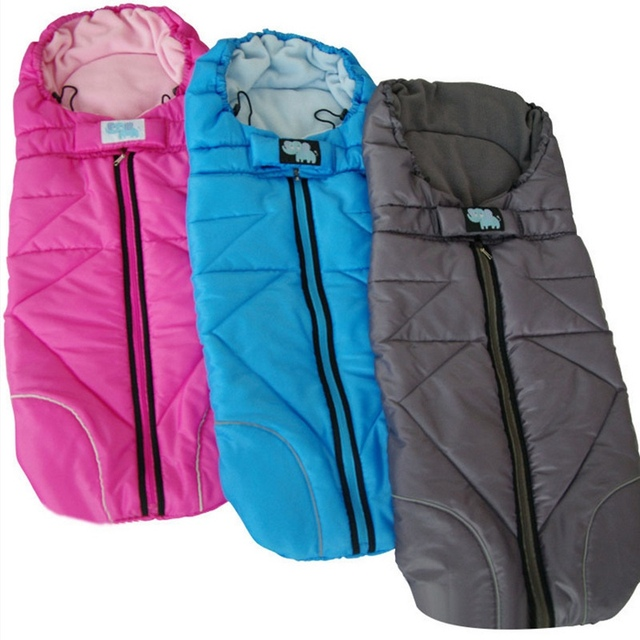 New Baby Stroller Sleeping Bag Universal Pushchair Warm Blanket Stroller Foot Muff Stroller Winter Infant Sleepsacks