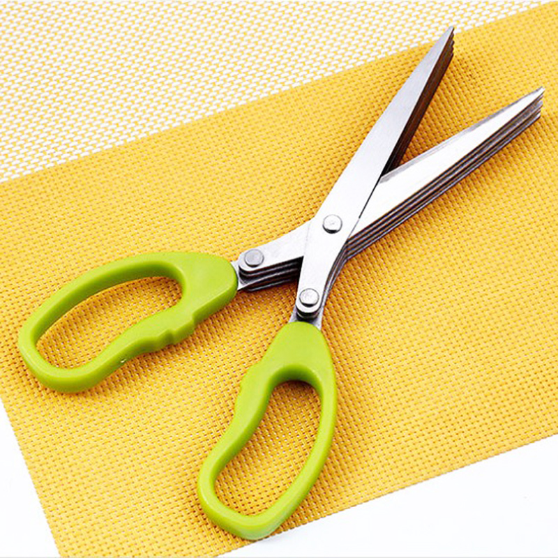 Cuchillos de Cocina de Acero Inoxidable de múltiples funciones 5 Capas shiping l