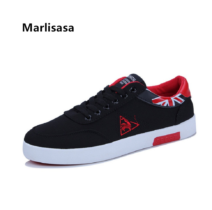 Marlisasa Chaussures Pour Hommes Male Fashion High Quality Lace Up Shoes Men Casual Spring Shoes Autumn Anti Skid Shoes F593 5
