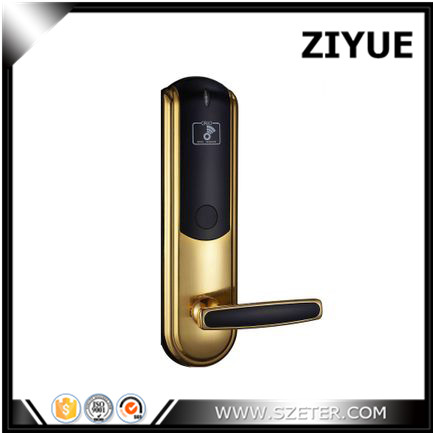 Top Grade Advanced digital 125khz rfid lock Electronic RFID  Smart Card Key Hotel Card Lock ET830RF digital electric best rfid hotel electronic door lock for flat apartment