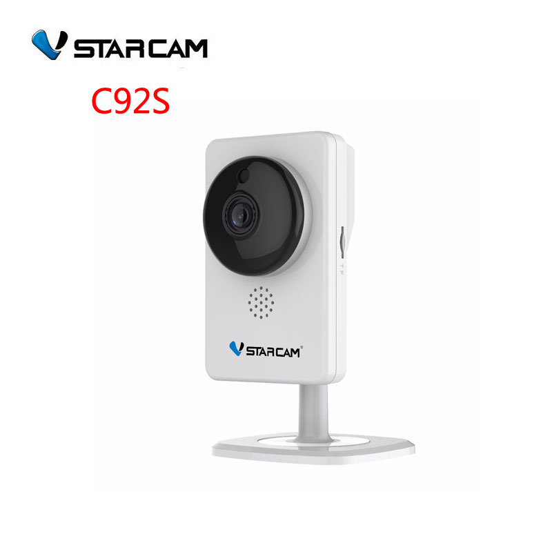 VStarcam 2MP IP Camera,1080P FULL HD,Home use wifi Camera,4mm lens 10m IR distance ,Mini Camera Infrared night vision SN:C92S spacetechnology st 171 ip home версия 2 2 8 mm аудио вход