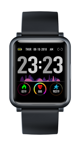H9 smartwatch PPG + ECG moniteur tension artérielle cardiofréquencemètre bracelet de marche IP68 étanche fitness pour IOS et Android