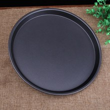 Pizza Plate Round Pizza Pan Tray Carbon Steel Non-stick Mold Baking Tool Baking Mould Pan Pattern Baking Tool