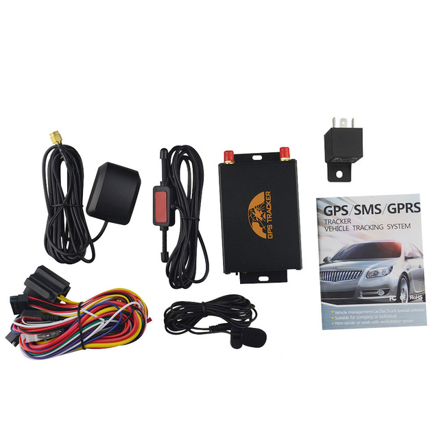 US $35 5 33% OFF|TK105A GPS105A Coban Car Vehicle GPS Tracker support RFID  Camera Fuel Sensor with Speed limiter GPS Online Tracking System -in GPS