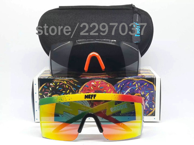 b7295439a92 2 Lens Polarized ev zero Jawbreakered EVZERO Sunglasses For Men neff brodie  Sun Glasses Eyewear Goggles Eyeglasses With Box
