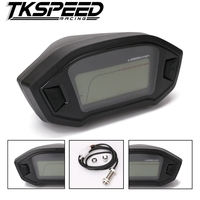 Universal Motorcycle LCD Digital Speedometer Odometer Backlight Motorcycle For 1 2 4 Cylinders
