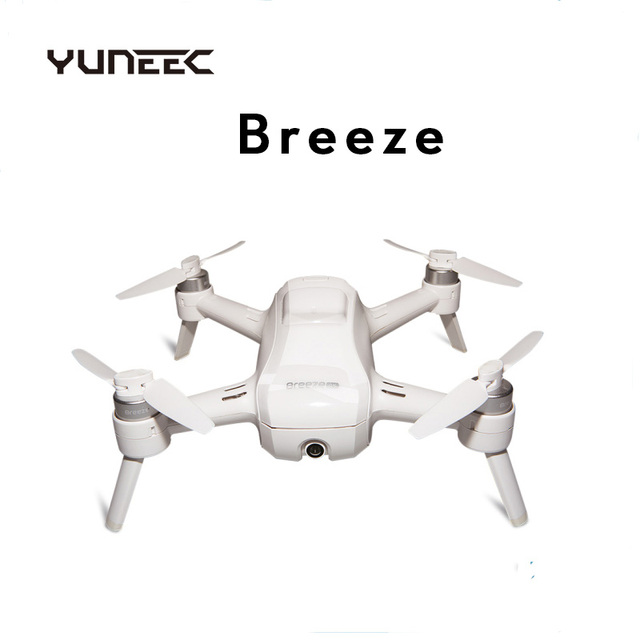 Yuneec Breeze Selfie Drone With 4K HD Camera APP Control RC Quadcopter Drone Original New Free shipping