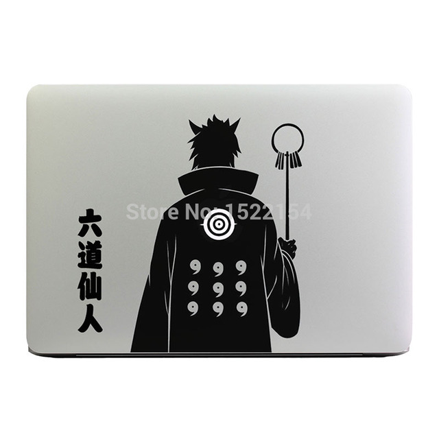 Glowing Hagoromo Sage Of Six Paths Laptop Sticker for Apple Macbook