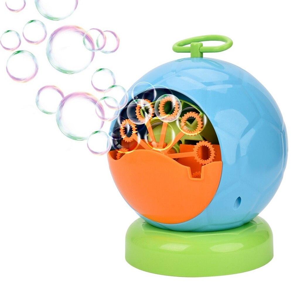 Автоматическая пузырь машины игрушки, прочный Bubble Maker более 500 красочные пузырь в минуту для детей, Рождество, вечеринок, свадьбы, дня рожден... ...