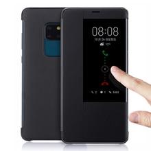 Flip Cover Leder Telefon Fall Für Huawei Mate 20 Lite Pro X 20Pro 20 lite 20X Mate20Pro Mate20X Mate20lite Mate20 fall Smart View