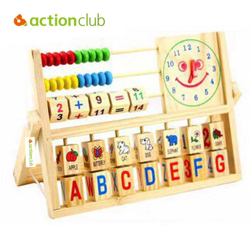 Educational Toys Nursery : Actionclub baby toys montessori educational wooden